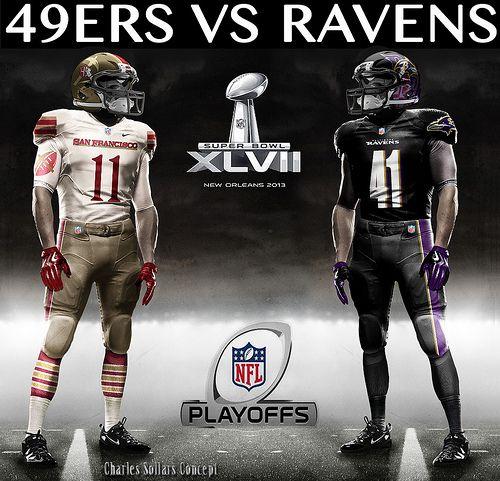 San Fransisco 49ers vs. Baltimore Ravens  Jim Harbaugh vs. John Harbaugh  Superbowl Matchup