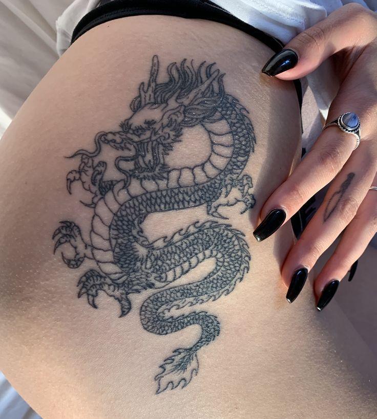 30+ Tatouage dragon cuisse homme ideas