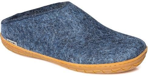 glerups Men's Model BR Slip-On Slippers Denim 41
