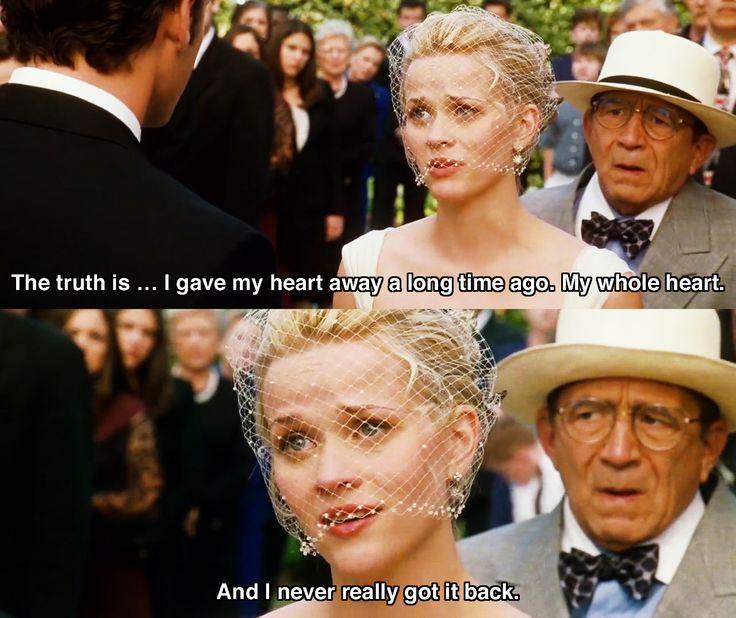 I gave my heart away.. ~ Sweet Home Alabama (2002) ~ Movie Quotes #amusementphile