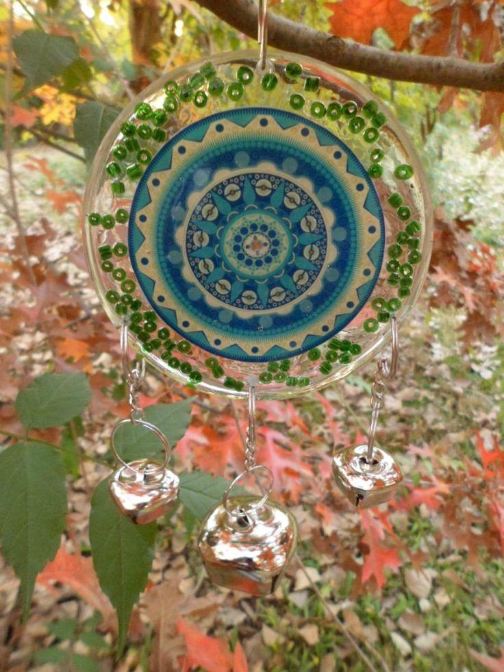 Mandalas Llamador De Angeles En Resina