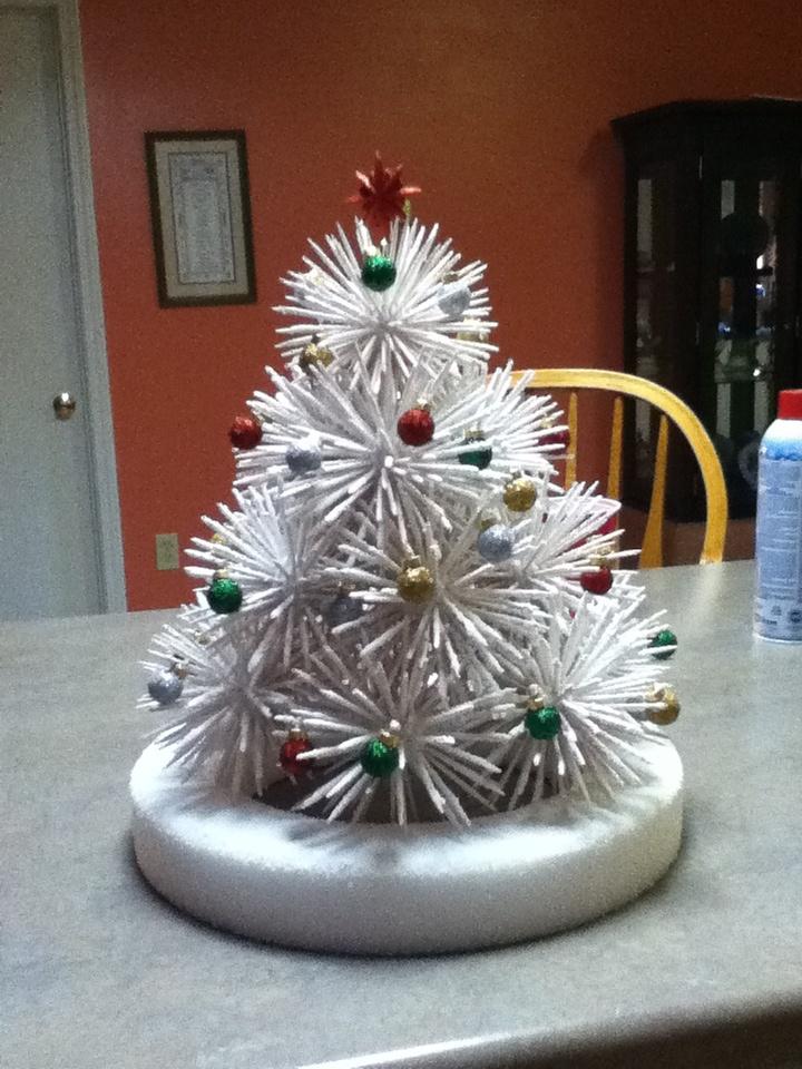Table Base Ideas Toothpick Christmas tree | Akm14 | Pinterest