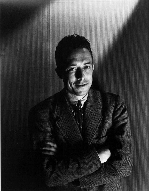 """""""The only way to deal with an unfree world is to become so absolutely free that your very existence is an act of rebellion.""""    Happy birthday, Albert Camus. <3"""