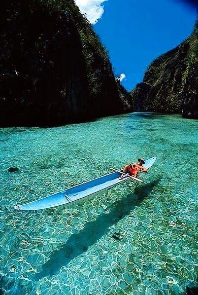Busuanga, Philippines, I sooo want to kayak here