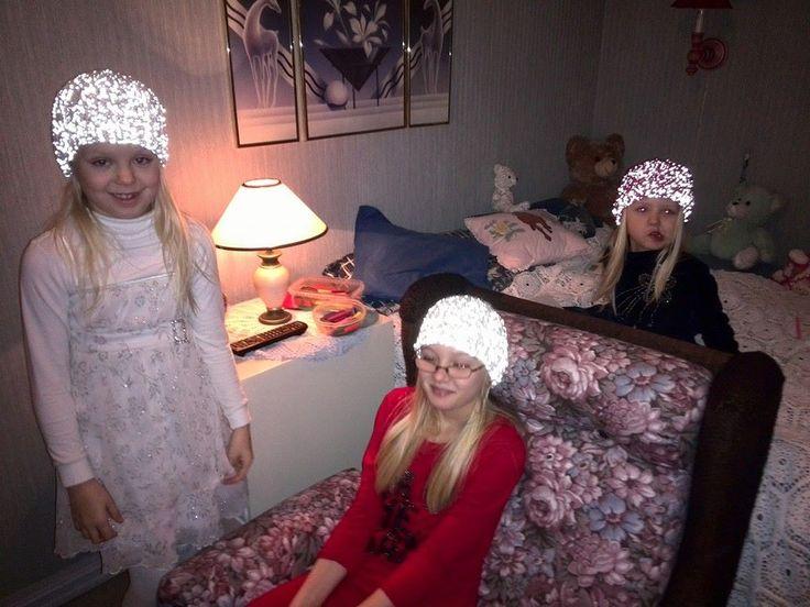 Jentene med refleksluer