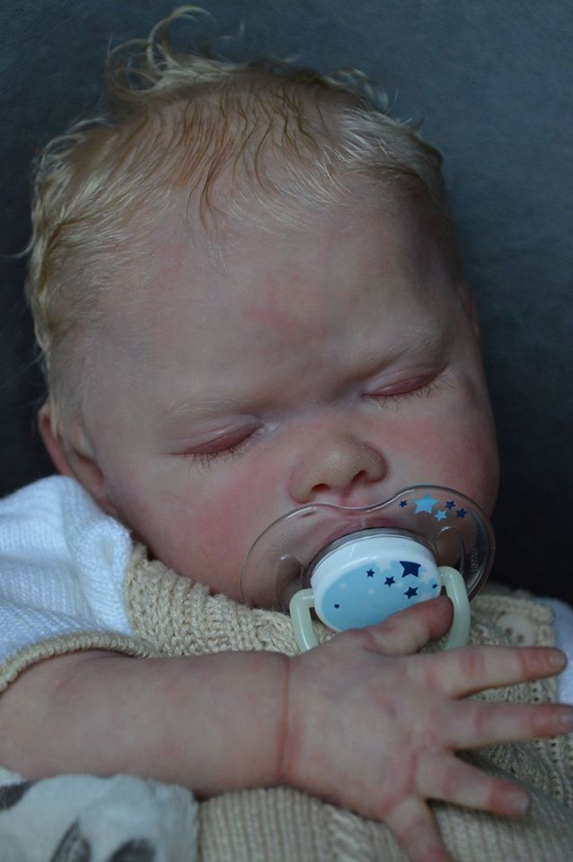 Kelly Dudley reborn baby boy doll tate
