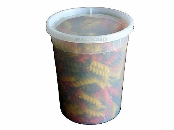 32 oz. (Quart Size) Plastic Freezer Food Storage Deli Soup Container Tubs w/Lids #PactivNewspring