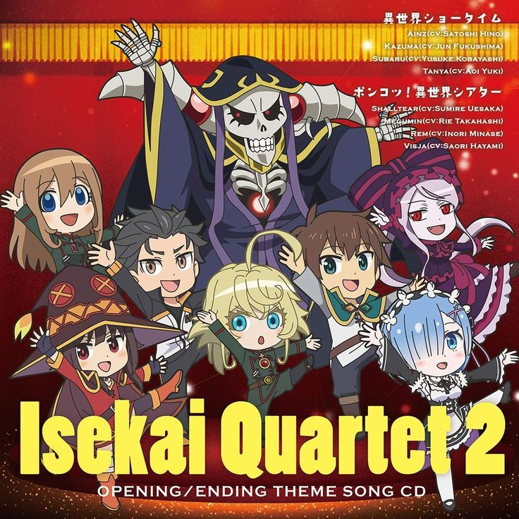 Pin on Isekai Quartet