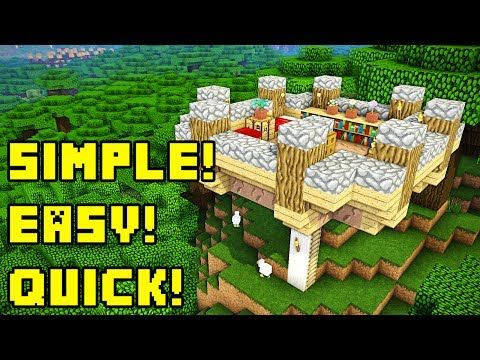 http://minecraftstream.com/minecraft-tutorials/minecraft-tutorial-simple-easy-mushroom-basehousehome/ - Minecraft Tutorial: Simple Easy Mushroom Base/House/Home This Minecraft tutorial shows how to build a simple, easy, and quick mushroom biome base build in under five minutes! I like making these short and sweet little video for you guys and I appreciate the tremendous support I have been getting! Thank you all so much for watching Bye! My Twitter:...