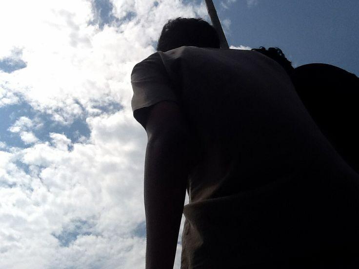 Indahan langitnya~ hahaa