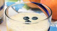 Blueberry Peach #Smoothie #Recipe