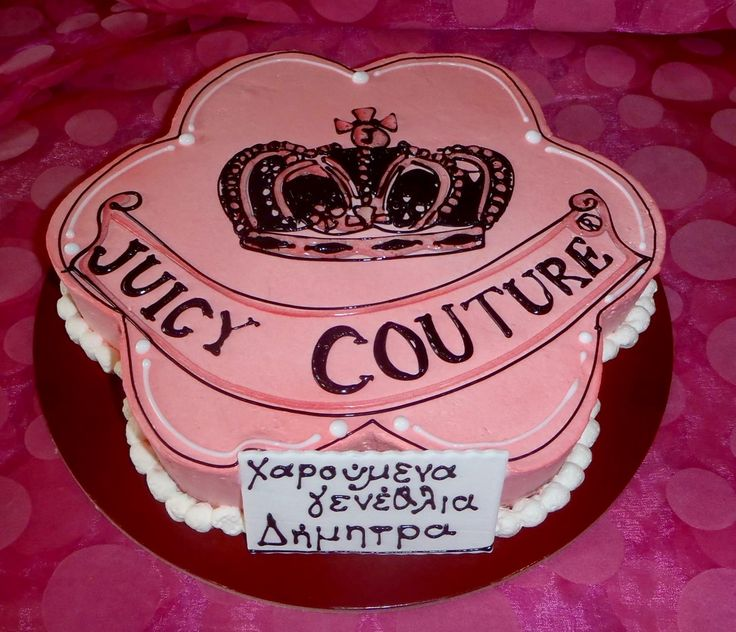 Birthday cake juicy couture