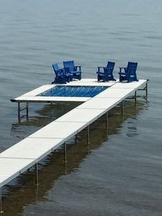 Bar Area Docks In Traverse City MI Created My Dock As I Drew It Out.  Painted My Glider Furniture ...