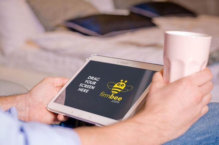 Samsung Galaxy Tab 4 PSD. #free #psd #digital #design #mockup #business #mobile #android #Samsung Galaxy Tab 4 #freelancer #work #