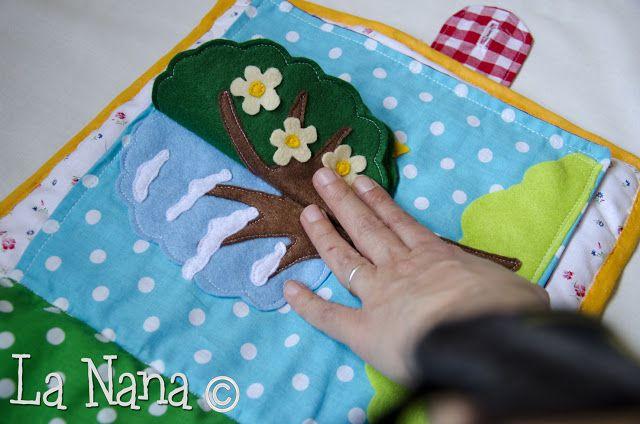 La Nana: Quiet Book Amici della Fattoria