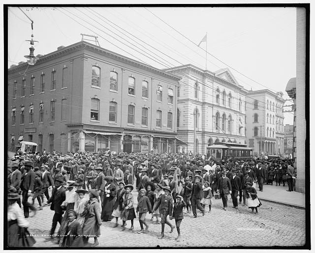 Emancipation proclamation date in Sydney