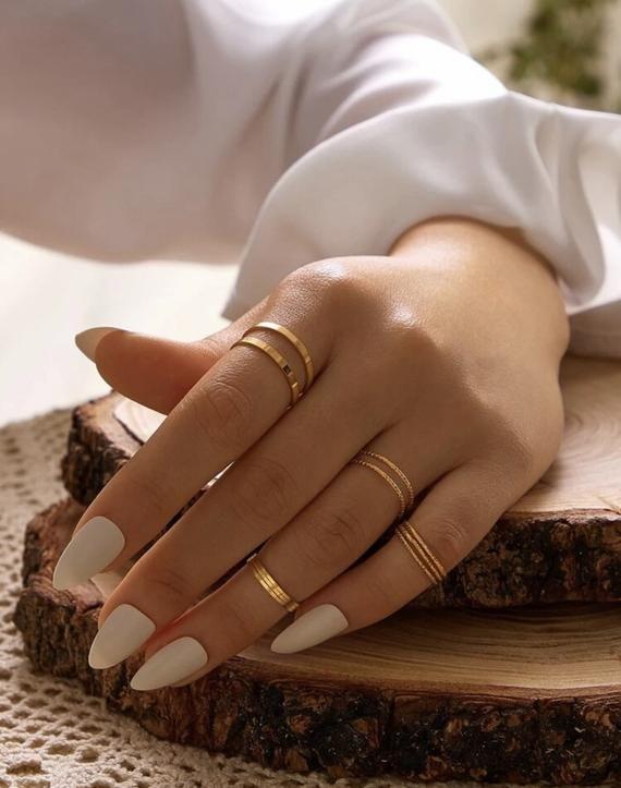 Dainty Gold Rings, Delicate Rings, Dainty Jewelry, Simple Jewelry, Cute Jewelry, Simple Gold Rings, Trendy Jewelry, Gold Rings Jewelry, Women Jewelry