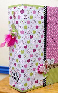 scrap et textile : ancienne boutique et blog: La bonne idée de Ma-ni et son tuto