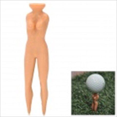 Sexy Women Multifunction Golf Tee - Light Brown