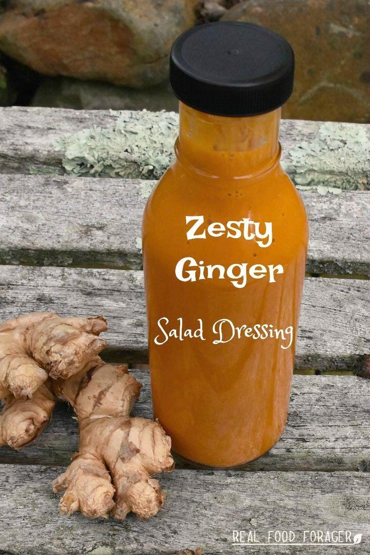 Recipe: Ginger Salad Dressing (SCD, GAPS, Paleo)