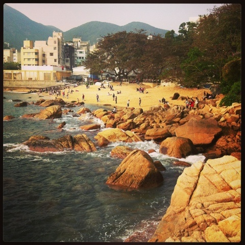 #Stanley market #HK #beach #sun #sea
