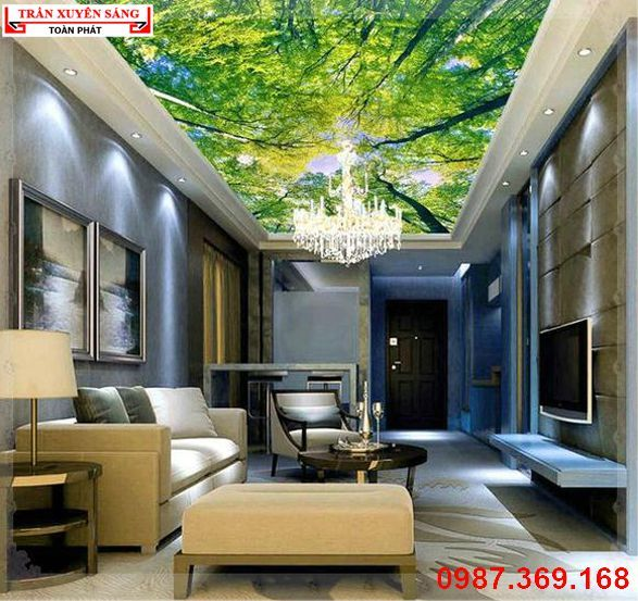 29 best tr n nh p xuy n s ng images on pinterest ceiling murals wall murals and wallpaper. Black Bedroom Furniture Sets. Home Design Ideas