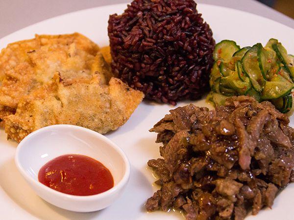 Koreansk bulgogi och dumplings | Recept.nu