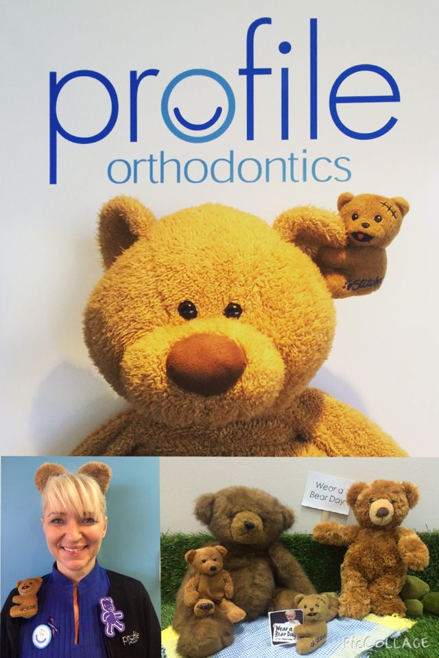 Wear a Bear Day at Profile Orthodontics to support PMH Hospital. #WearABearDay #PMHFoundation