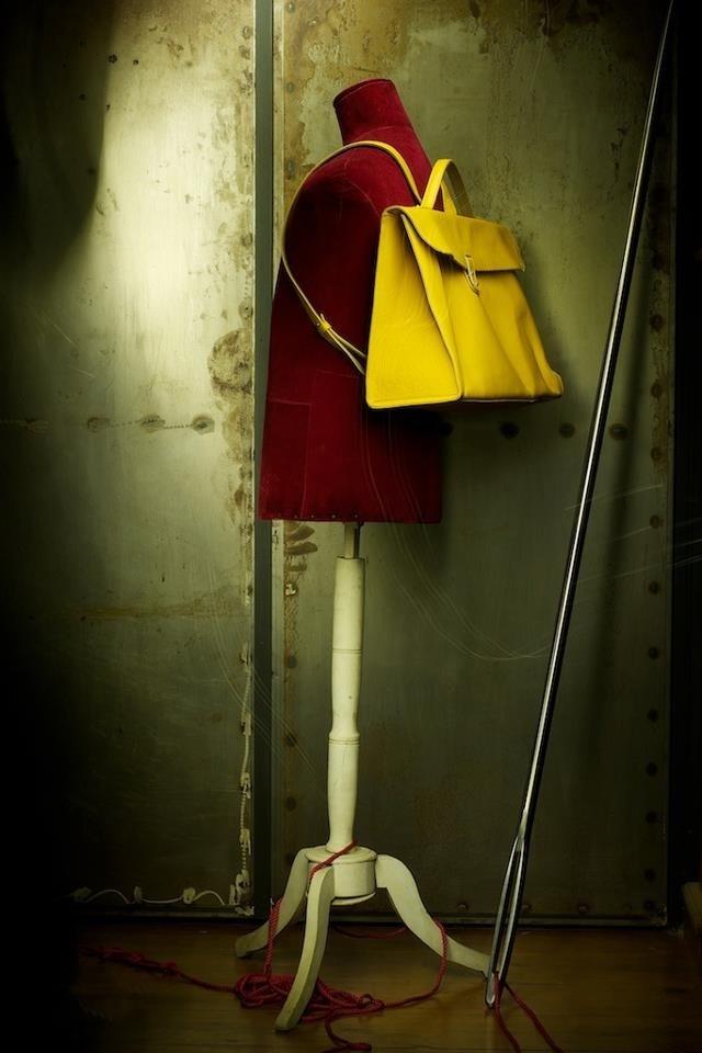 Handmade backbag by Penny Vomva!