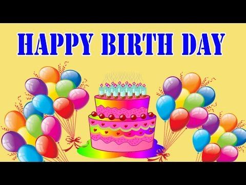 Happy Birthday Song for Kids | Happy Birthday Songs for Children 2D Animated Video - YouTube