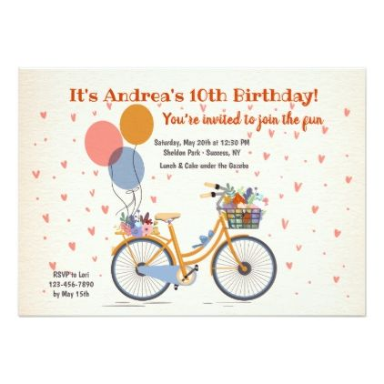 Let's Go For A Ride Invitation - birthday cards invitations party diy personalize customize celebration