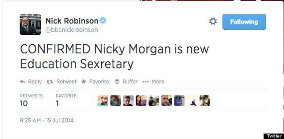 nick robinson social media fail