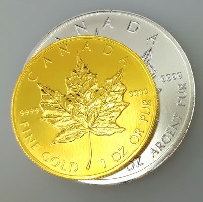 Maple Leaf Coin Comparison: Silver VS. Gold