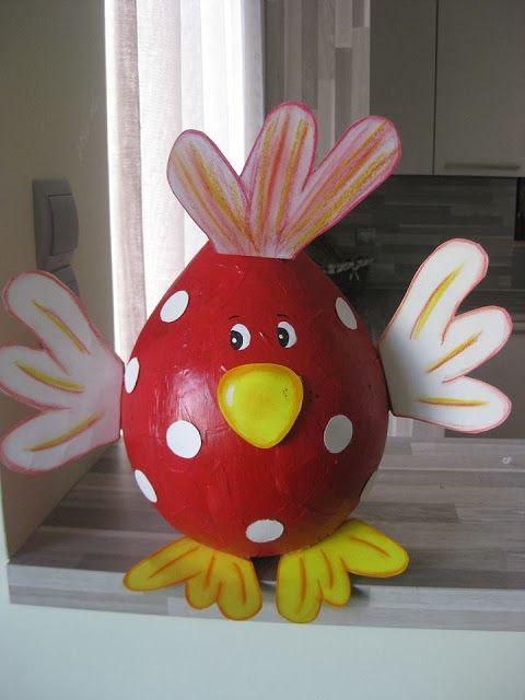 Φτιάχνουμε κότες από μπαλόνια!! 1