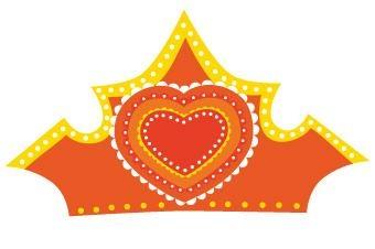 Free printable: Tiara for Koninginnedag