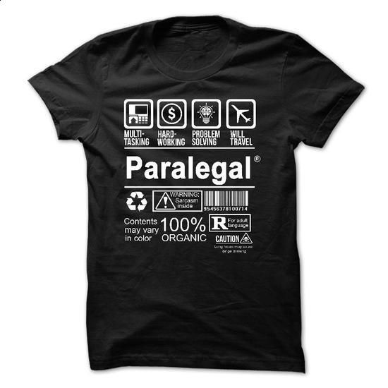Best Seller - PARALEGAL - #tees #polo sweatshirt. BUY NOW => https://www.sunfrog.com/No-Category/Best-Seller--PARALEGAL.html?60505