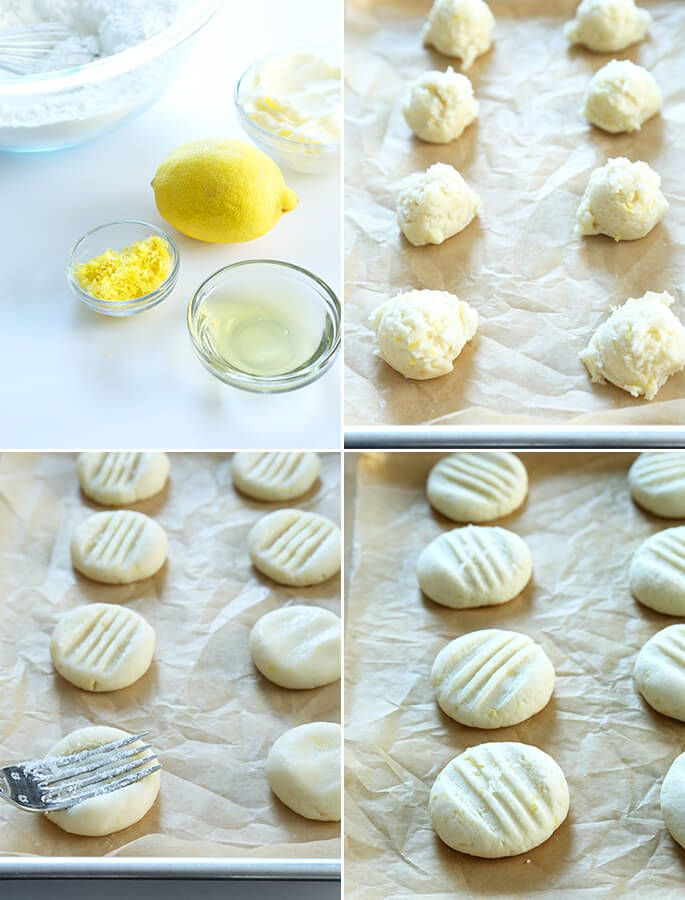 Super Simple Gluten Free Lemon Meltaway Cookies, Step by Step