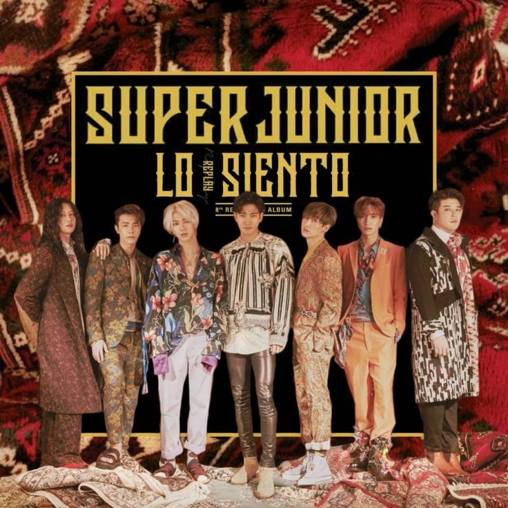 SUPER JUNIOR LO SIENTO / REPLAY album cover by LEAlbum in