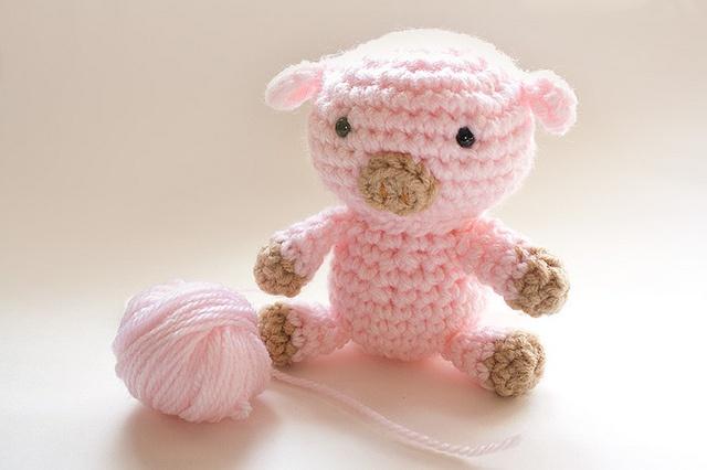 Amigurumi Pig Free Pattern : Mr. Pig Amigurumi - C Crochet... amigurumi,dolls ...