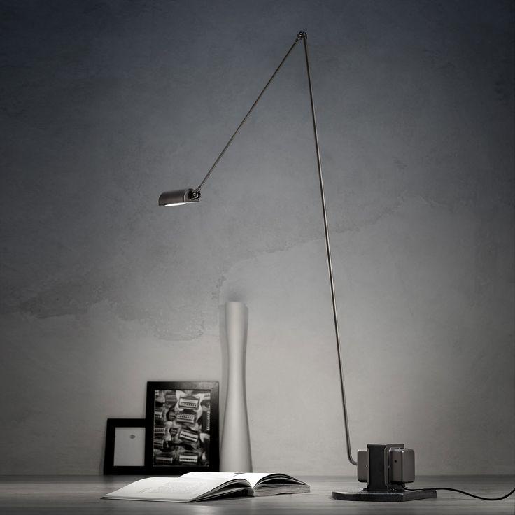 DAPHINE - Lámpara de lectura Níquel cepillado Lumina