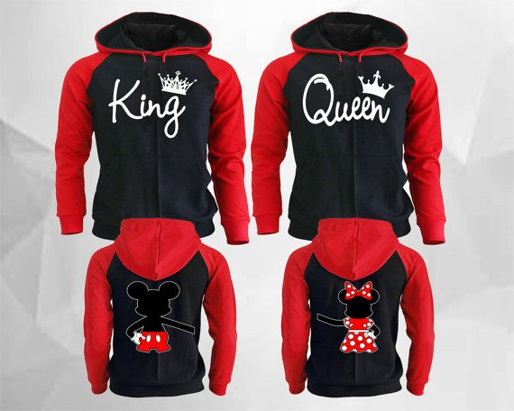 King Queen Hoodies King Queen Raglan Hoodies by lifestyle39