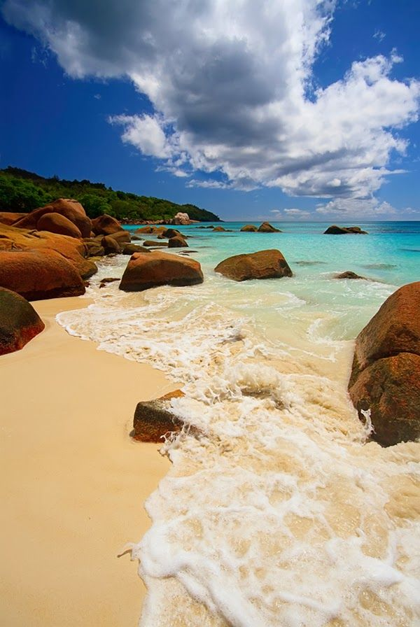 I LOVE it no matter where its located!!  Seychelles Beach, Ikaria Greece