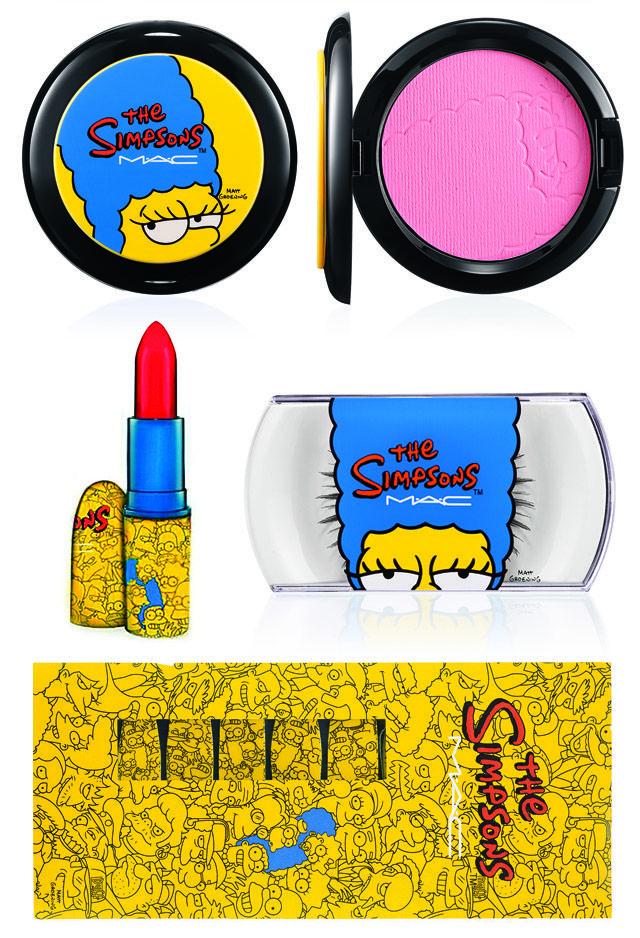 mac simpsons collection | Também desejou algum item de MAC x Marge The Simpsons Collection ?