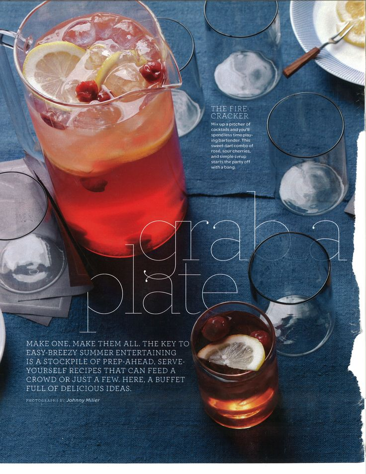 Martha Stewart magazine - nice imagery with this editorial layout.