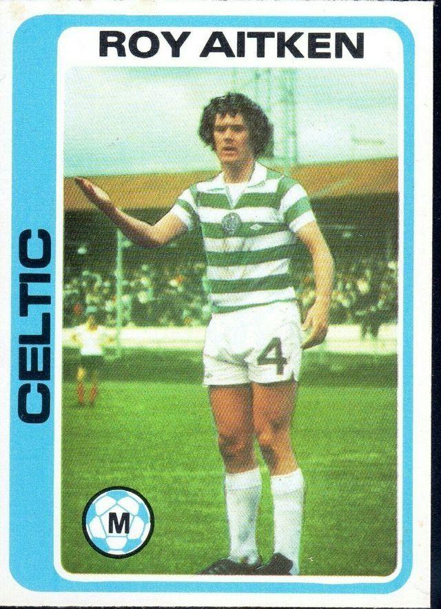 Roy Aitken of Celtic in 1977.
