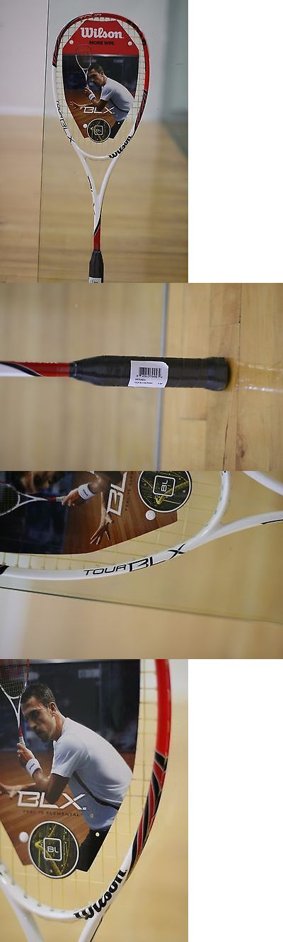 Squash 62166: Wilson Squash Racket Racquet Blx Tour 138G 14X18 3 3/4 Grip BUY IT NOW ONLY: $114.95