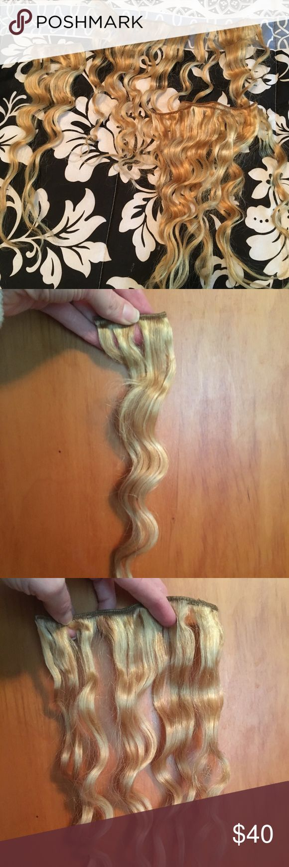 Jessica Simpson Hair Extensions Worn once. Sold as set (5 pieces total) Jessica Simpson Other