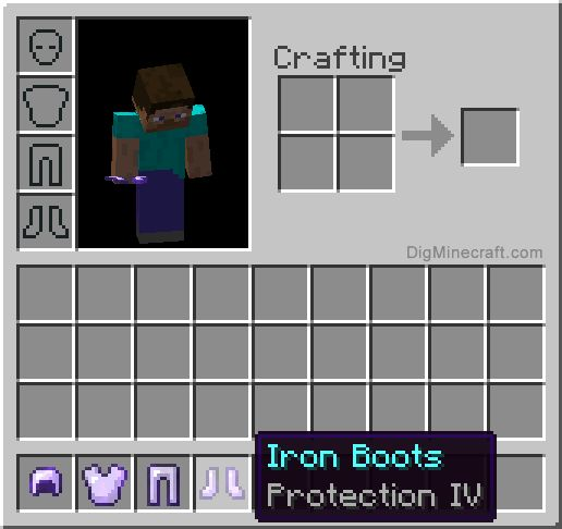 Protection enchantment in Minecraft is a comprehensive protection again all types of damage (attacks, fire, lava, and falling)