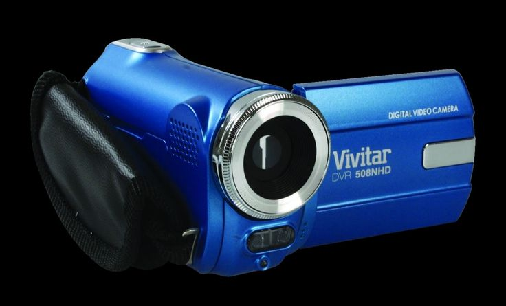 Vivitar DVR508 HD Digital Video Camcorder in Blue