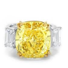 Most Expensive Diamond Engagement Rings | carat diamonds and sell for $ 520000 6 yellow diamond